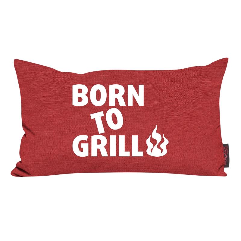 kissen garden born to grill 30 x 50 cm 14 99. Black Bedroom Furniture Sets. Home Design Ideas